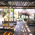 The outdoor dining lapa is conveniently located in sight of the children's outdoor play area (perfect for families).