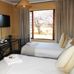 Each newly renovated room at Wakkerstroom Counry Inn now offers a flat screen TV.