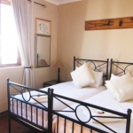 The newly renovated rooms at Wakkerstroom Country Inn, offering clean, comfortable rooms with tasteful furnishings.